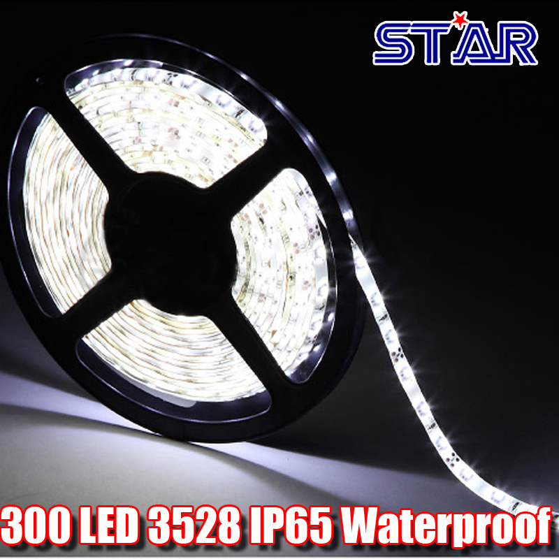1m SMD 3528 12V Flexible LED Strip Light Waterproof IP65, 60leds/m Strip LED Tape Lamp Luminaria Lighting Factory Price(China (Mainland))
