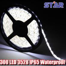 1m  SMD 3528 12V Flexible LED Strip Light Waterproof IP65, 60leds/m Strip LED Tape Lamp Luminaria Lighting Factory Price(China (Mainland))