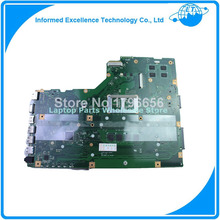 For ASUS X75VD X75VB Laptop motherboard with 4GB RAM X75VD REV 2.0 PN:60NB1400 90R-NCOMB1400U 100% Tested !(China (Mainland))
