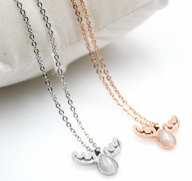 popular deer necklacebuy cheap deer necklace lots from