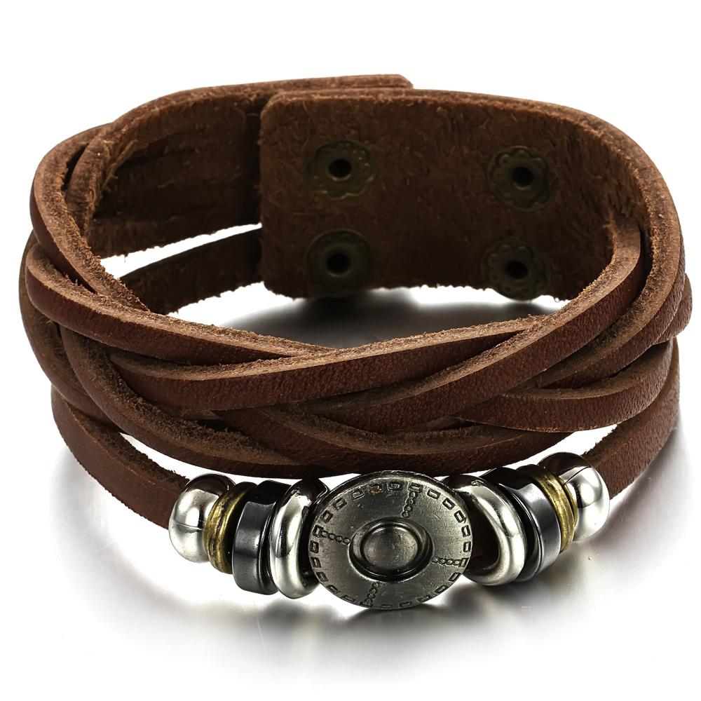 Кожаный браслет своими руками мужской