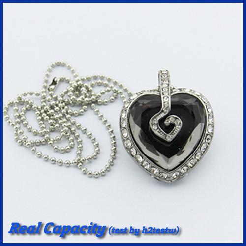 free shipping flash memory usb stick 16gb pendrive honor heart usb flash drive jewelry crystal pen drive 4gb 8gb 16gb 32gb gift(China (Mainland))