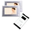 FREE SHIPPING Brand 7 inch Video Door Phone Intercom System 2 Monitor 1 HD Doorbell Camera