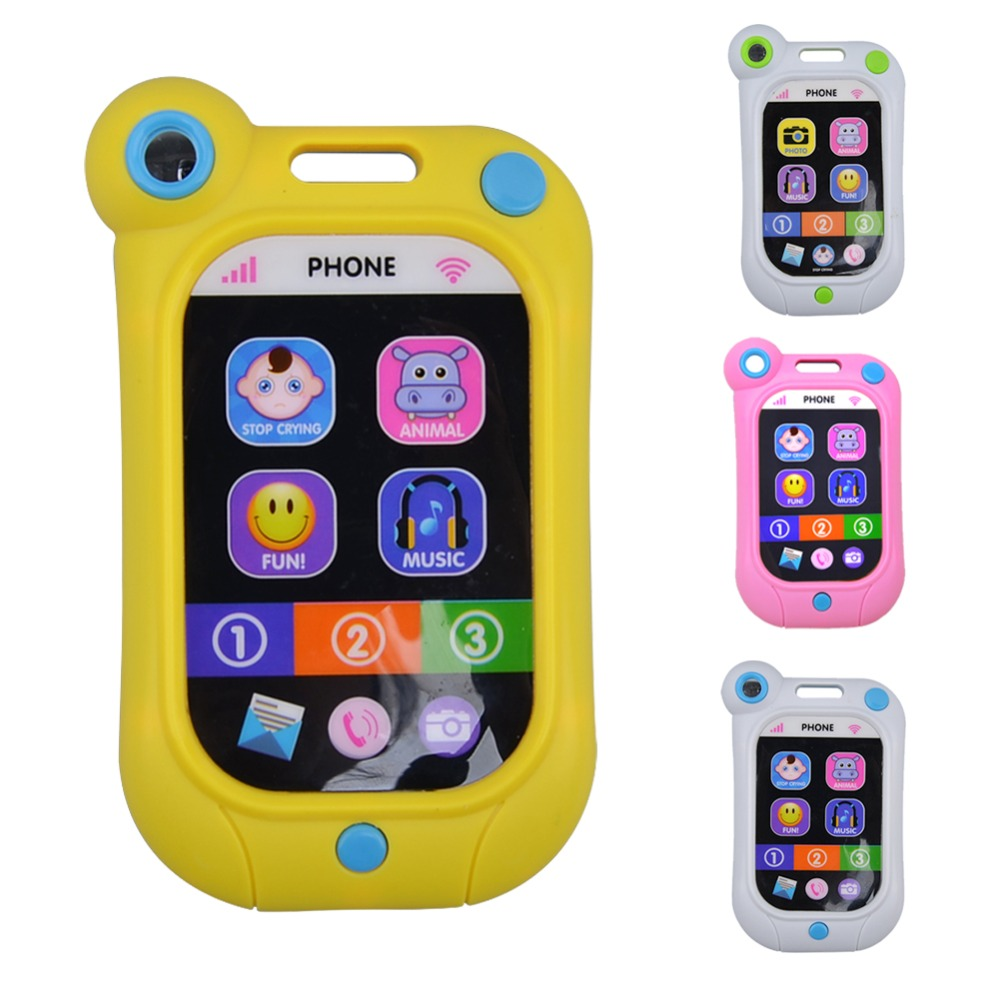 Baby Kids Learning Study Musical Sound Children Educational Toys Cell Phone(China (Mainland))