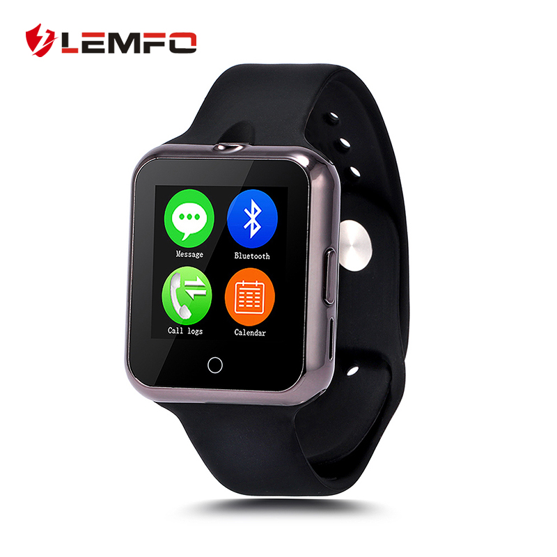 Lemfo D3 Smart Watch Phone Gorgeous Marquee Lamp Support SIM TF Card Bluetooth Wearable Devices SmartWatch For Apple Android New