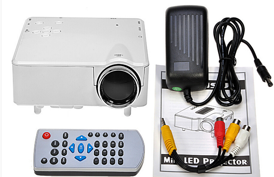 2015 hot sale h80 image system multimedia led projector hd for Best mini projector 2015