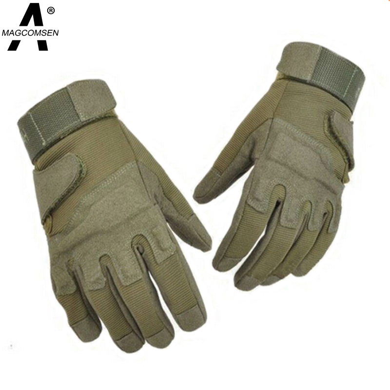New Outdoor Men's Army Gloves Man Full Finger Tactical Gloves Military Quick Dry Anti-Slippery Leather Combat Gloves AG-JLHS-024(China (Mainland))