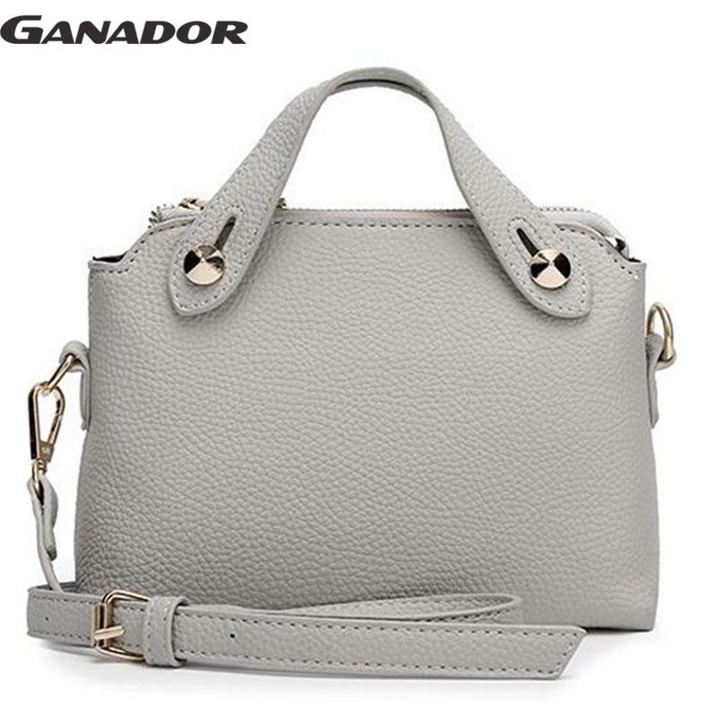 Ganador hot sale 2016 women messenger bags fashion women handbag women pouch candy colors bag shopping handbags bags LS6886na(China (Mainland))