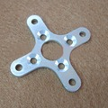 10pcs mould parts metal wheel gear For RC Helicopter wheel fix NEW