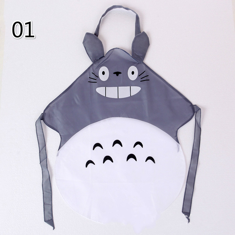 Funny Creative Joke Christmas Aprons Kitchen Cartoon totoro Apron Waterproof Novelty BBQ Personalized for Apron Gifts(China (Mainland))