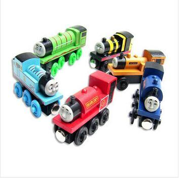 Wooden thomas and friends trains toys for children,kids thomas train model toy,free shipping 1 pcs(China (Mainland))
