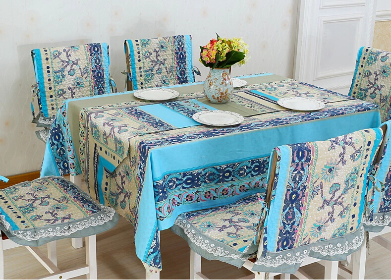Bohemia style Lace Banquet wedding dining table tea Table cloth(China (Mainland))