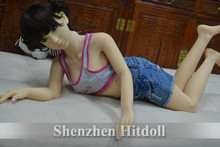 Top quality 125cm silicone sex doll for men full size love dolls japanese real dolls metal