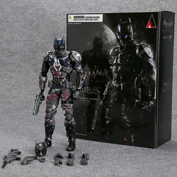 SquareEnix Playarts KAI Batman Arkham Knight PVC Action Figure Collectible Model Toy 27cm Retail Box WU160<br><br>Aliexpress