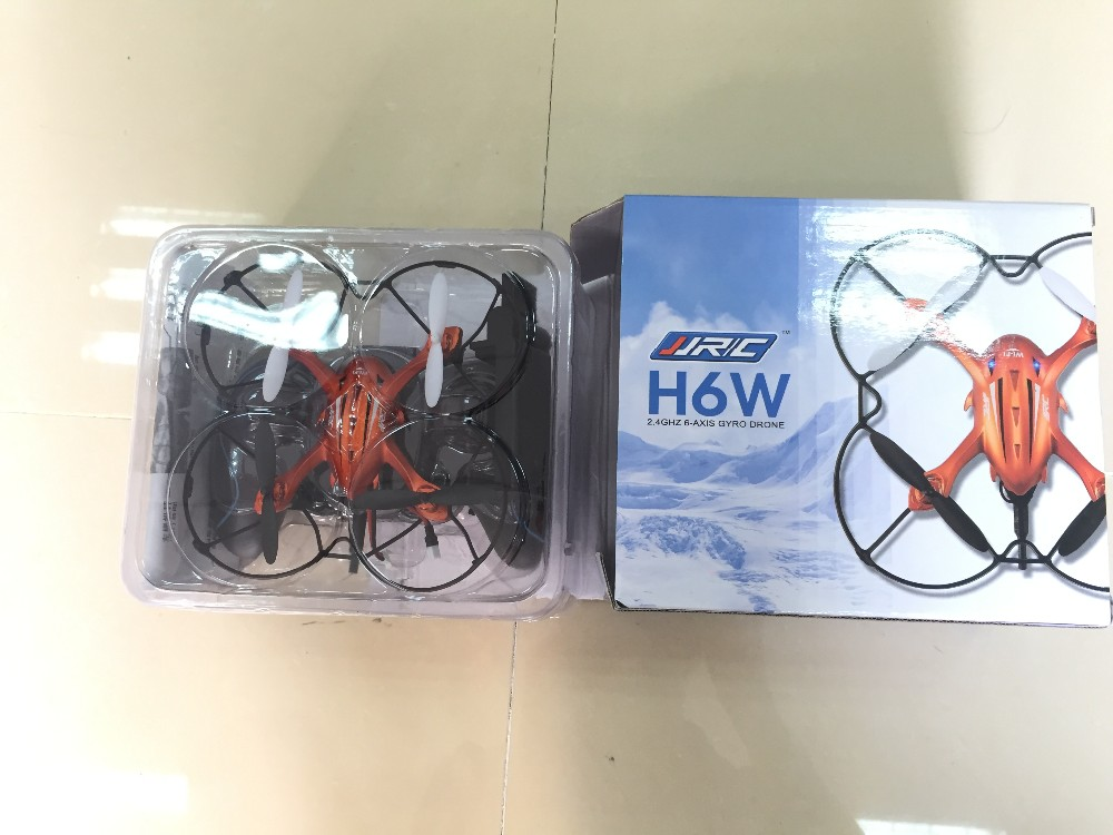 2016 Newest! Mini Drone JJRC H6W Real Time Video FPV Quadcopte RC Toys Dron With 2MP Hd Wifi Camera RC Helicopter Vs MJX X600
