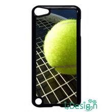 Fit for Samsung Galaxy mini S3/4/5/6/7 edge plus+ Note2/3/4/5 back skins cellphone case cover Tennis Ball Racket Black