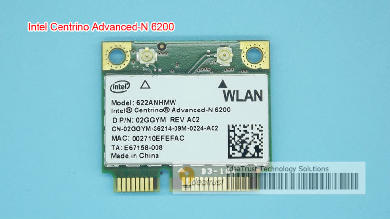 Intel Centrino Advanced-N 6200 Intel6200 Intel 6200 622ANHMW 6200AN 300M 2.4&amp;5G WiFi Wireless Card<br><br>Aliexpress