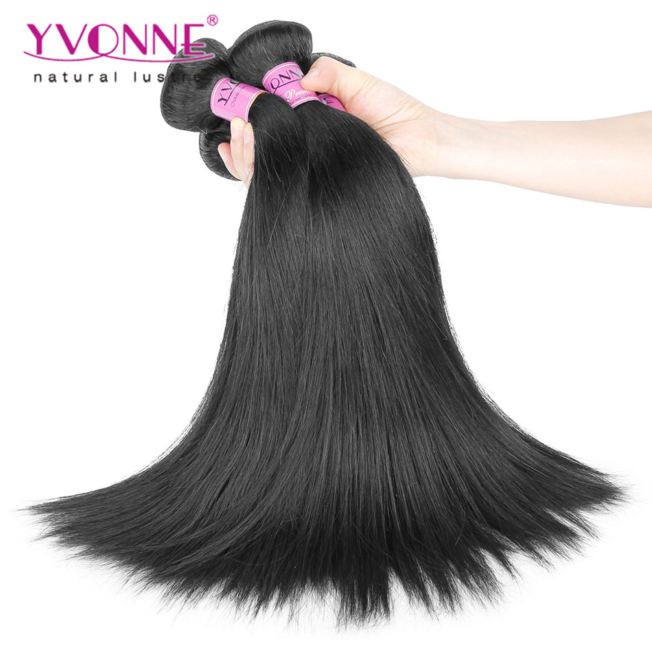 Unprocessed Virgin Straight Hair Weave,4Pcs/lot Brazilian Virgin Hair,8-28 Inches Aliexpress Yvonne Hair,Natural Color(China (Mainland))