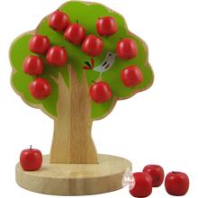 Juguetes del bebé japón Woody Puddy manzano magnética juguete matemáticas educación Montessori juguetes de madera del bebé regalo de cumpleaños
