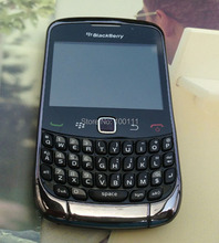 in stocked / Refurbished Original Blackberry Curve 9300 Mobile Phone unlocked QWERTY Keyboard 2MP Camera Black/ Free shipping(Hong Kong)