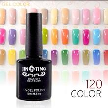 120 Colors Gel Nail Polish UV Gel Polish Long-lasting Soak-off LED UV Gel Color Hot Nail Gel 10ml/Pc-S03