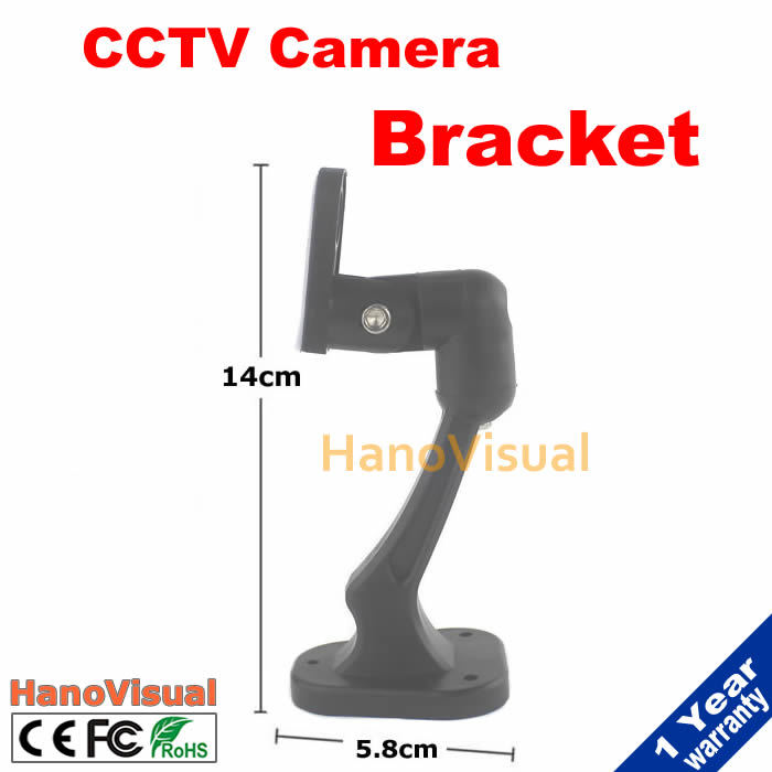 Surveillance Camera Wall Mount Bracket High-intensity Plastic Gimbal Bracket CCTV Camera Bracket Universal CCTV Camera Stand<br><br>Aliexpress
