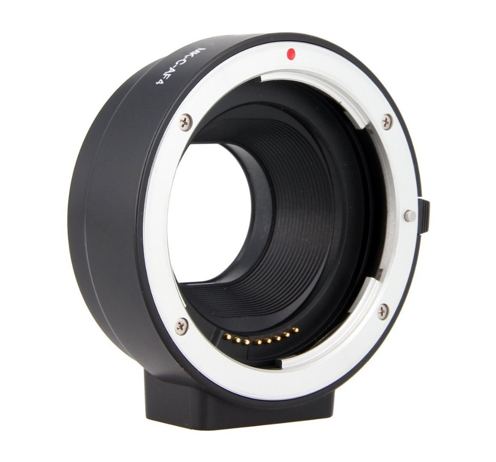 Meike Electronic Auto Focus Adapter Extension Tube for Canon EF S lens to EOS M EF
