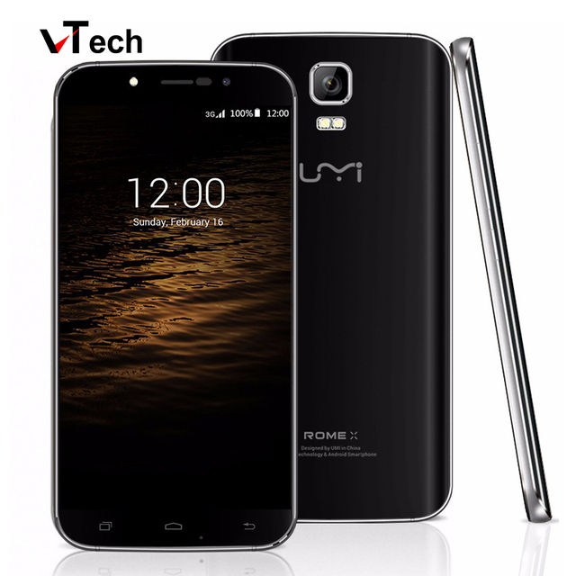 "In Stock UMI ROME X 5.5"" 1280*720 HD Android 5.1 Smartphone 1.3GHz Quad Core MTK6580 1GB+8GB 8MP Dual SIM 2500mAh Mobile Phone"