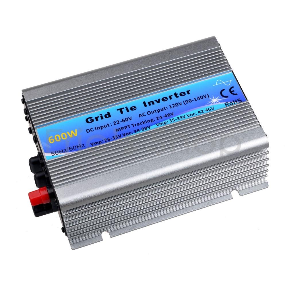 400W Solar Inverter Grid Tie Inverter DC22V-60V to AC120V(90-140VAC) Pure Sine Wave Inverter 50Hz/60Hz(Auto control) CE(China (Mainland))