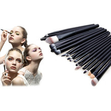 Buy 20 pcs/lot Eye Makeup Brushes Powder Foundation Eyeshadow Eyeliner Lip Cosmetic Pinceis de Maquiagem Brush beauty tools for $4.09 in AliExpress store