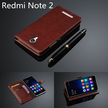 Buy Xiaomi Redmi Note 2 Prime card holder cover case Xiaomi redmi note 2 leather phone case Hongmi Note 2 wallet flip cover for $4.24 in AliExpress store