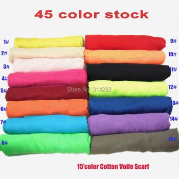 2013 NEW  plain pure Color womens 100% viscose Scarf /Shawl/hijab/muslim long wrap popular 180*100cm 10pcs/lot
