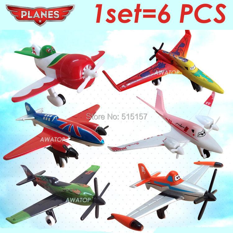 6pcs/lot dusty planes pixar toy plane aircraft classic toys for children kids ishani/ Ripslinger/ Skipper/ Bulldog/EL Chupacabra(China (Mainland))