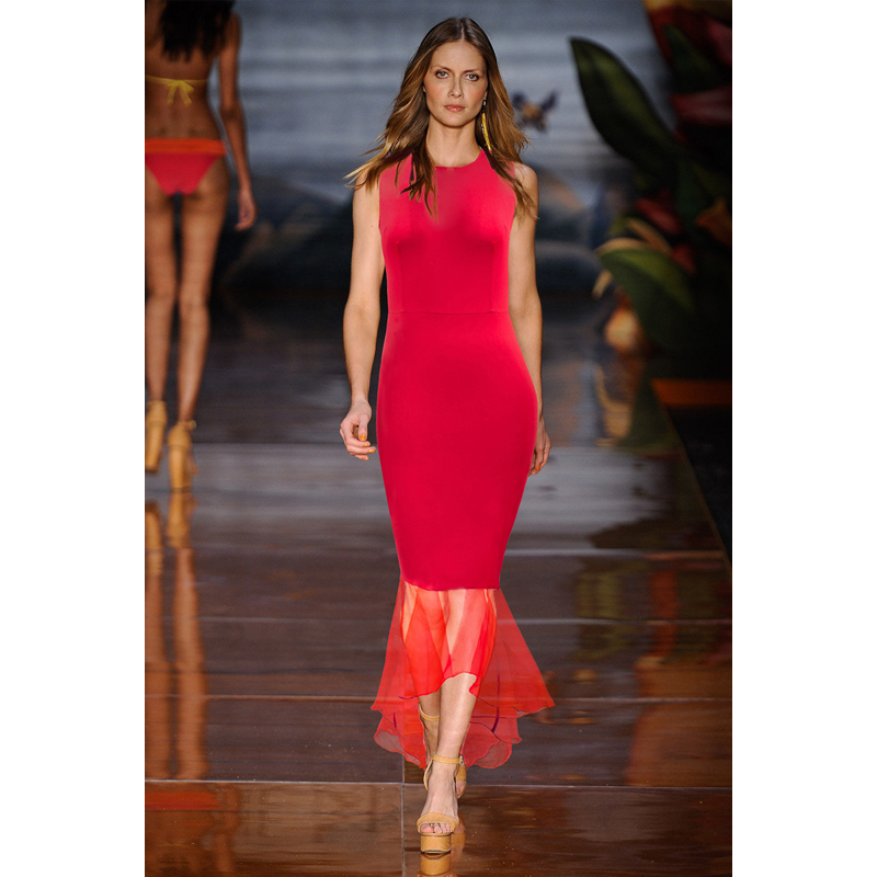 After 6 red dress casual