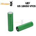 2pcs lot So ny VTC5 US18650 3 7V 2600mAh 30A Rechargeable Batteries