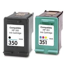 For HP 350 351 Ink Cartridges For HP Photosmart C4480/C4280/C4580/C5280 Officejet J5780/J5730/J5780/J5785/J5790/J6410/J6450