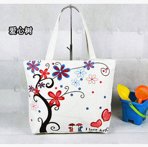 2015 NEW arrival Hot sale Free Shipping Many popular singles shoulder Korean fashion tote small fresh students canvas Satchel(China (Mainland))