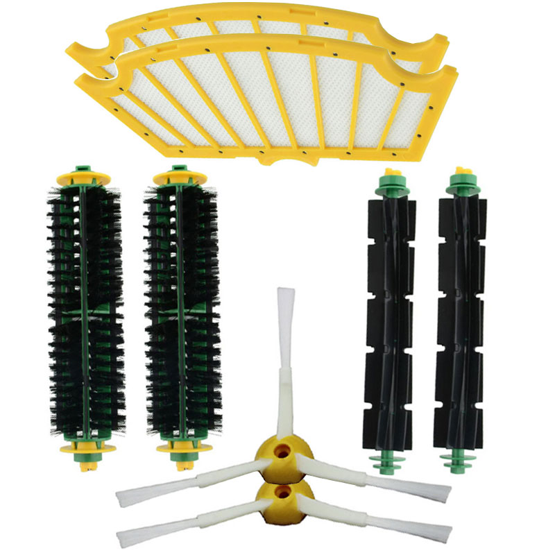 High Quality Accessory Brush for Irobot Roomba 500 series 520 530 540 550 560 570 580 Vacuum Cleaner Replacement Parts Kit(China (Mainland))