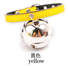 2016 new pet dog collar Big bell dog leash chien collar perro cat dog accessories collar honden halsband leash for cats,Z4752(China (Mainland))