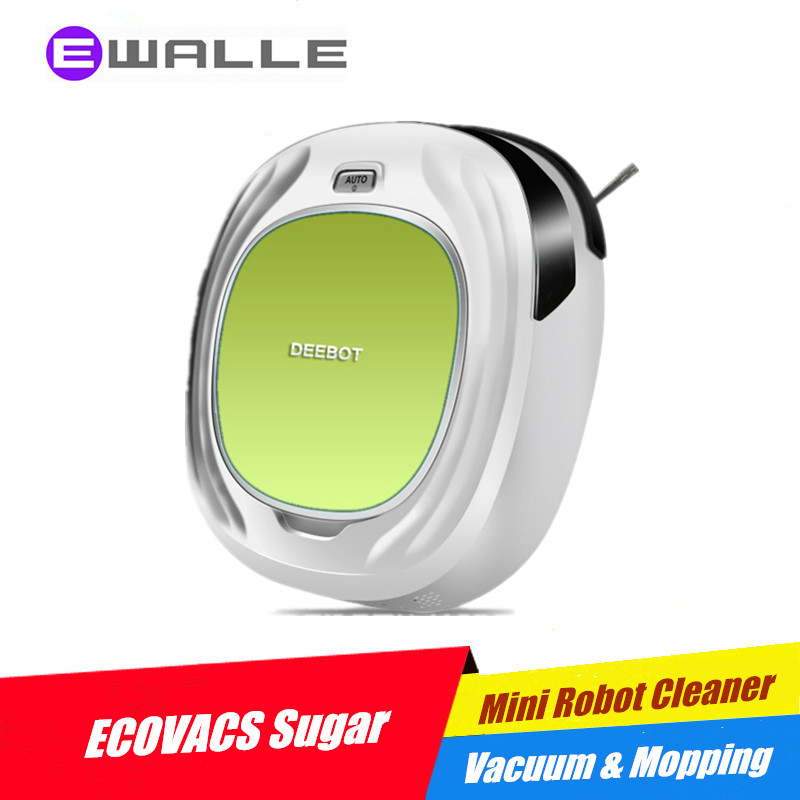 2016 New Robot Vacuum Cleaner ECOVACS DEEBOT D45A Sugar Floor Cleaning, Sweep, Vacuum and Mopping(China (Mainland))