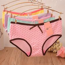 The girl on a single cotton underwear underwear cotton underwear lady underwear Caiting 8018 cute love dream