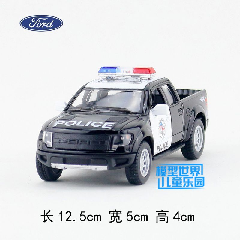 Kids Toys Children Artificial Car Model Toy FORD F50 Picard'S Police Truck Two WARRIOR Belt Open Door Brinquedos - Tesco Online Store 907684 store