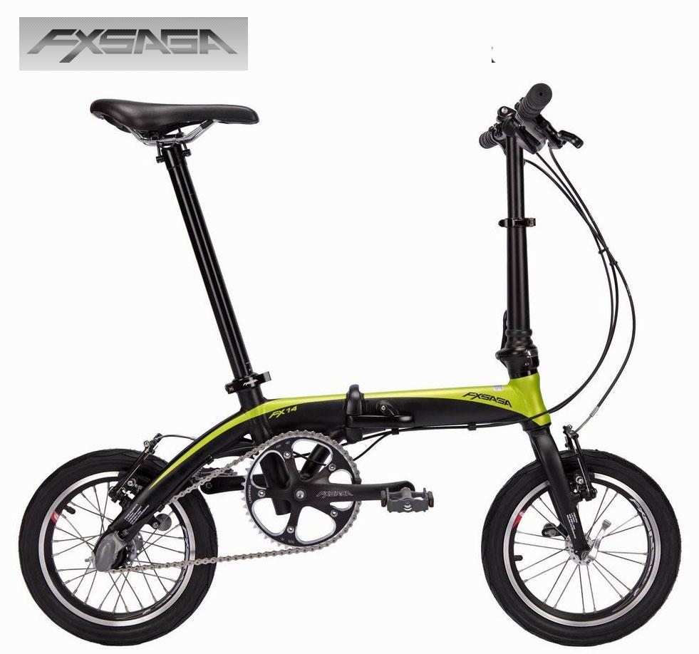 """FXSAGA 14"""" inch ultra light Aluminum 3 speeds internal derailleur shifter folding bike bicyle fold bike 8.7kg(China (Mainland))"""