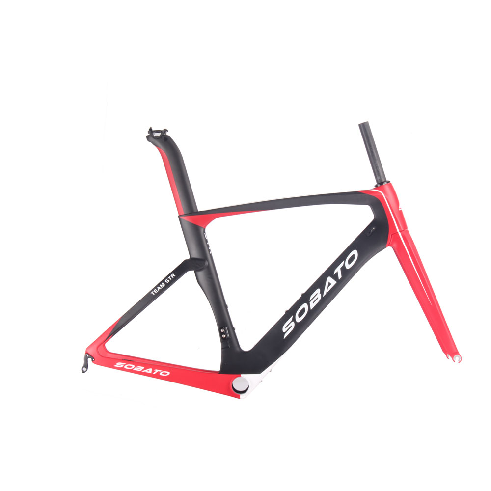 2016 New Painting Carbon Road Frameset UD Carbon Fiber Road Bike Frame Sale Complete Road Bike Frame(China (Mainland))