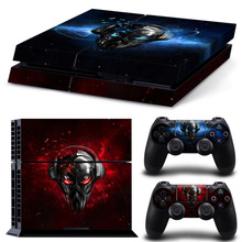 Pirate Station sticker for ps4 accessories PVC vinyl cover for Sony Playstation 4 console and dualshock 4 skin for ps4 sticker