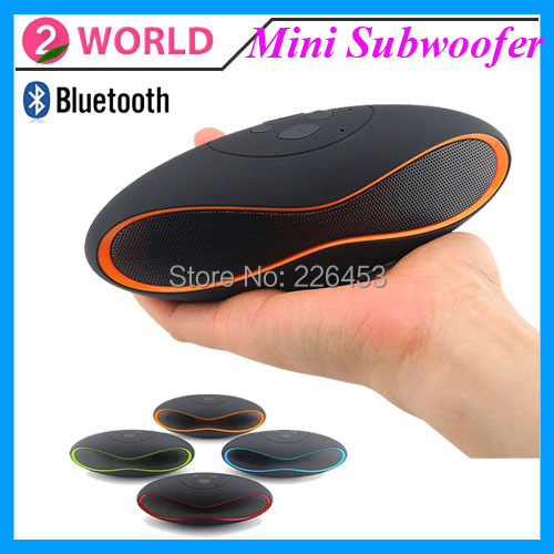 QFX Mini Portable Subwoofer Bluetooth Speaker Stereo Built in MIC TF AUX Home Theatre System For Mobile phone Computer Tablet PC(China (Mainland))