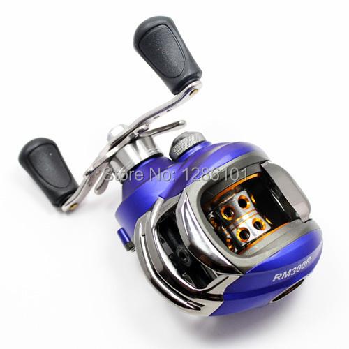 New Fishing Baitcasting Reel Bait Caster RM300L 10+1 Ball Bearings Aluminium Spool Left Hand