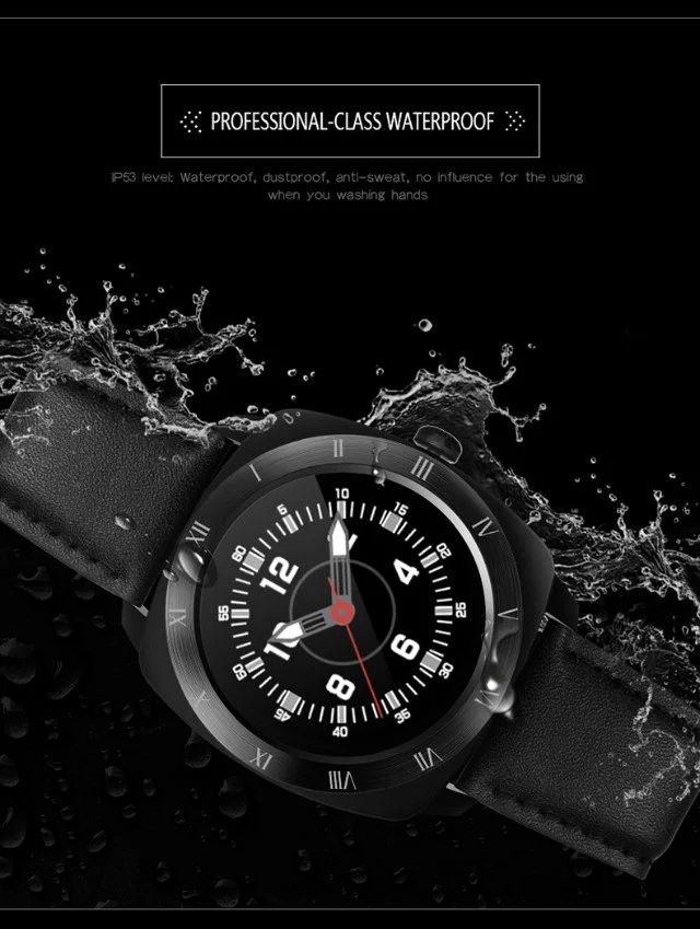 Waterproof Smart Watch DM88 K8 DM360 Call Reminder Strap rate monitor Wristwatch for iOS Apple phone Android Smartphone PK K18