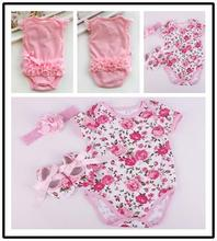 2016 0-24 months Newborn New Born Baby Rompers Girl Dress sleeveless Jumpsuit Outfits Clothes Baby-clothes(China (Mainland))