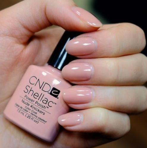 Cnd цвет на ногтях